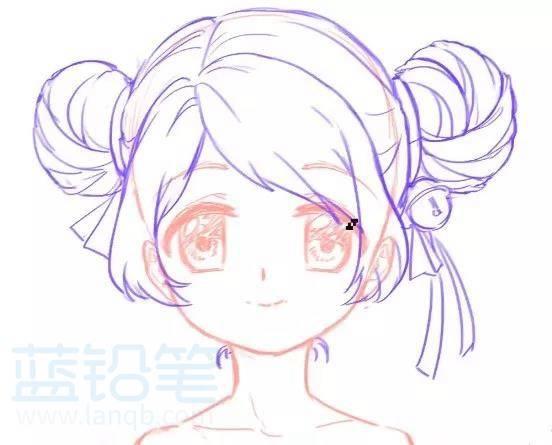 动漫中女生人物绘画技巧——萝莉篇,再也不怕是小萝莉
