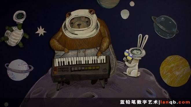 纸片动画MV《Paper Plane》