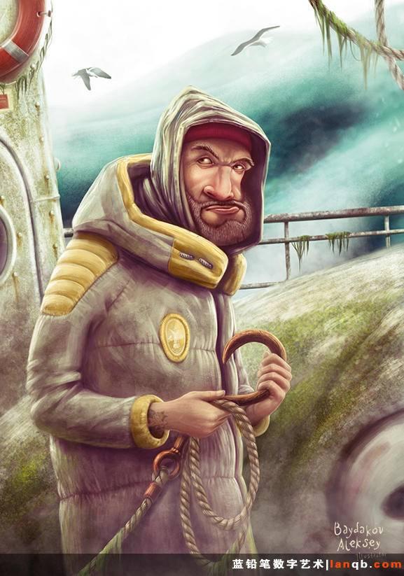 俄罗斯插画师Aleksey Baydakov作品欣赏