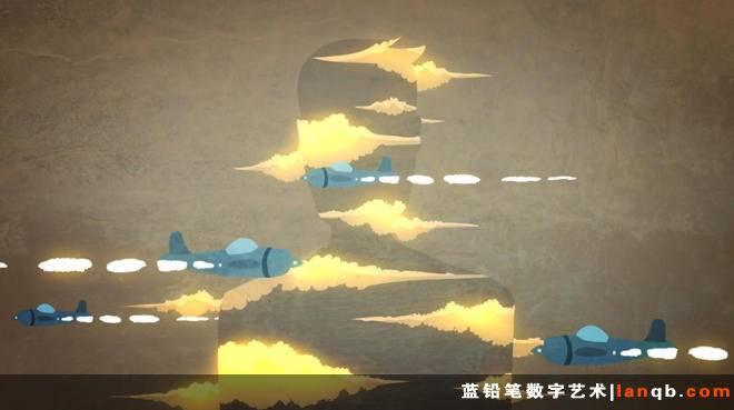 Young Galaxy的动画MV《Sleepwalk With Me》