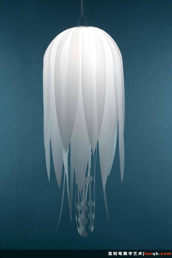 创意灯具——水母形吊灯
