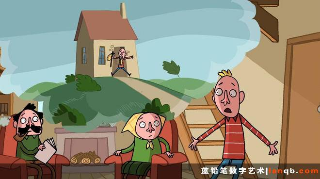 Joost Lieuwma的短片《Leaving Home - Uit Huis 》