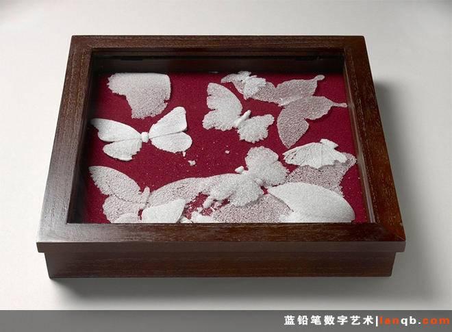 Michael Crowder的玻璃碎屑蝴蝶'玻璃碎屑'