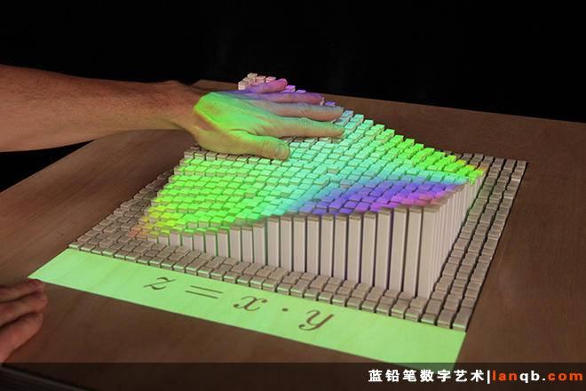 互动式动态界面,将现实转为3D画面