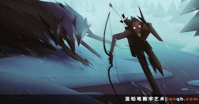 Amin Faramarizian插画作品荟
