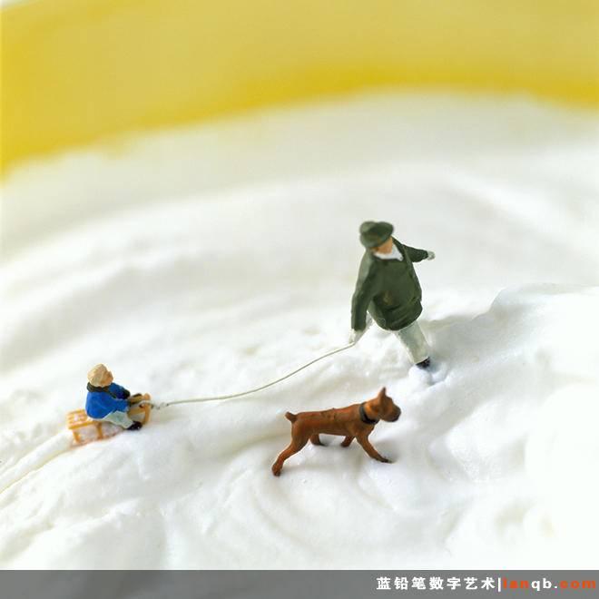 让人垂涎欲滴的微雕摄影作品《MINIMIAM》
