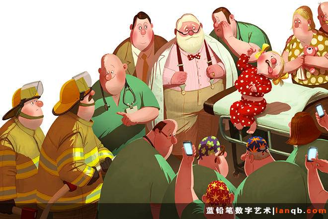 Denis Zilber插画作品荟