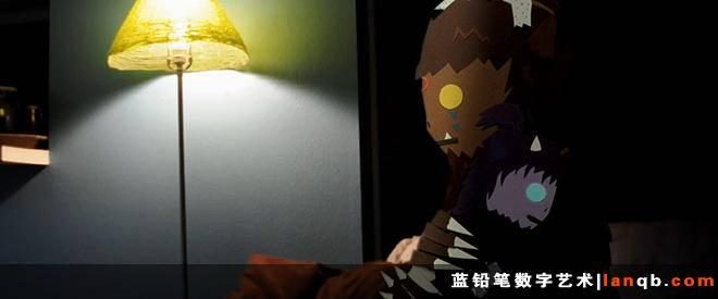 暖心的小怪兽日常纸品动画《Morning Ritual》