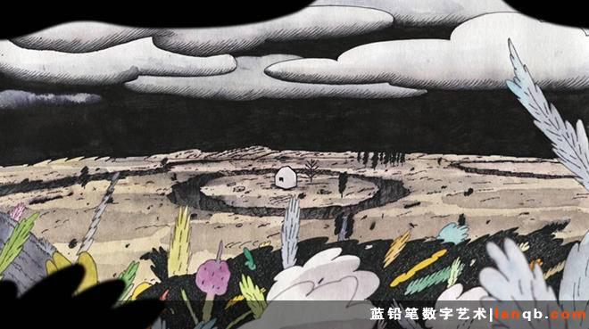 韩国2D抽象短片《Each Other》