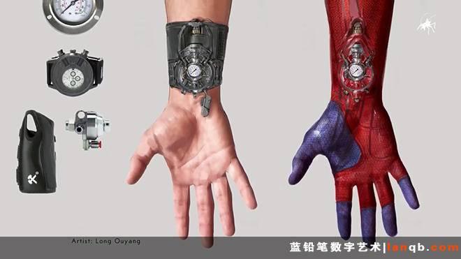 《超凡蜘蛛侠2》原画+人设