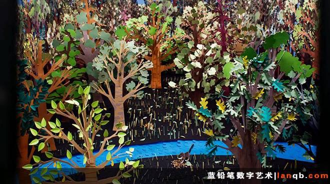 纸品定格动画《Plants》