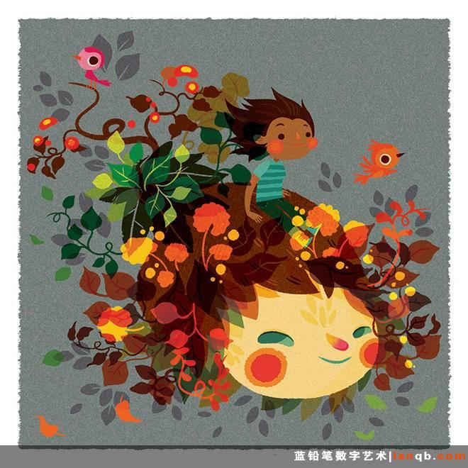 Lorena Alvarez Gomez趣味插画