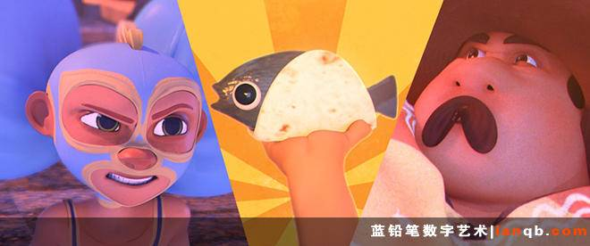 3D+2D毕设短片《Legend of the Flying Tomato》