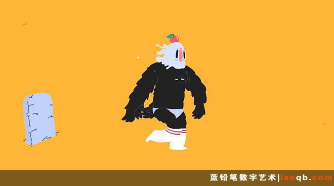 2D酷炫变幻动画短片《Wild & Wooly》
