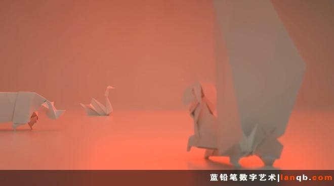 3D炫美短片《Dream Life of Paper》