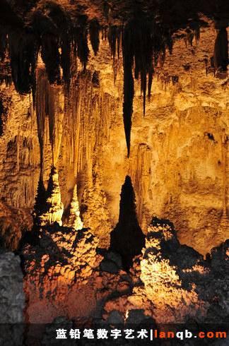 美国新墨西哥州卡尔斯巴德洞窟
