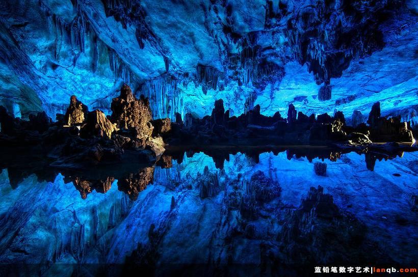 中国广西芦笛岩