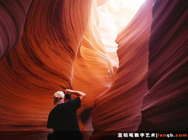 美国亚利桑那州羚羊峡谷(Antelope Canyon)