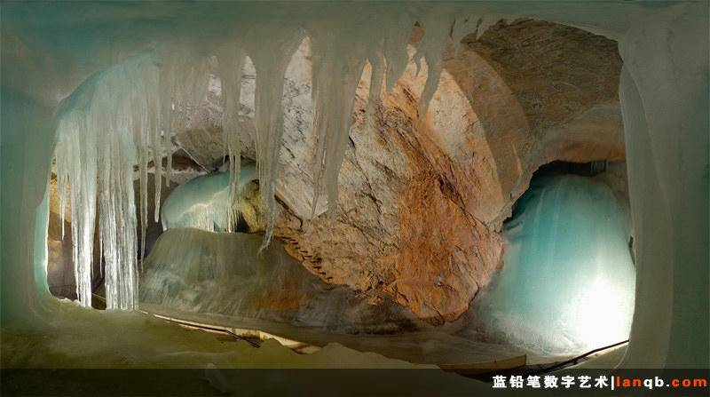 奥地利维尔分的森威尔特岩洞