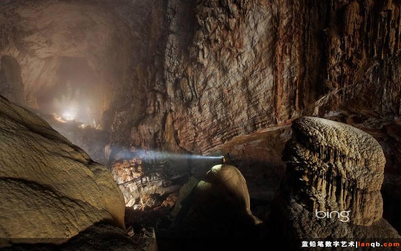 越南广平省韩松洞(Son Doong Cave)