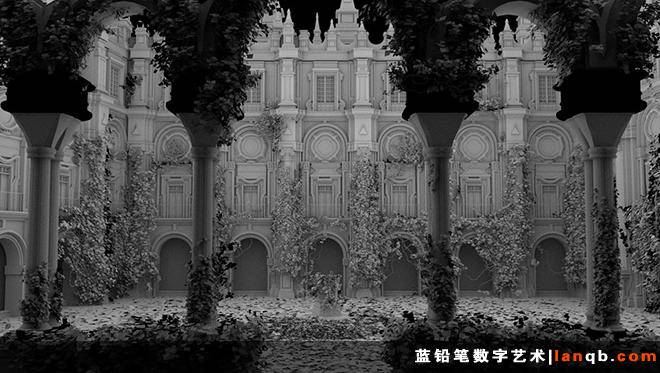 """The Courtyard""的制作"