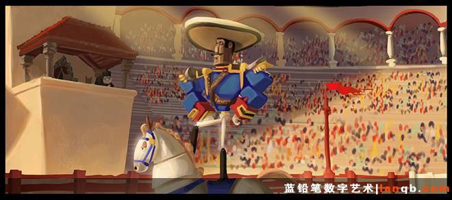 迪士尼年度大作《超能陆战队》原画欣赏2
