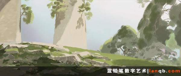 《亚当与狗》背景原画欣赏