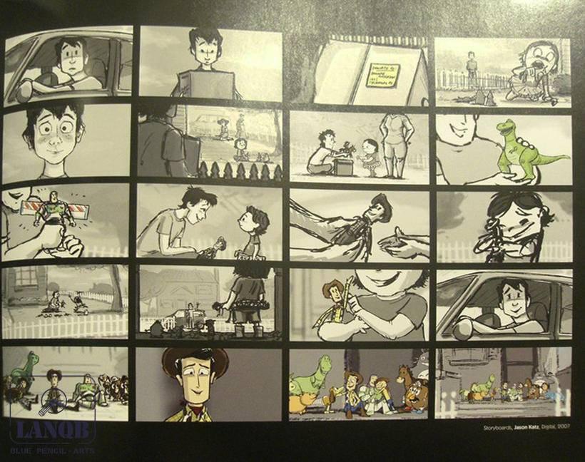 《玩具总动员3》——故事板