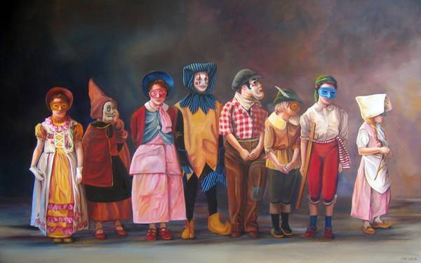 Emma Hesse 衣物印象派绘画集7