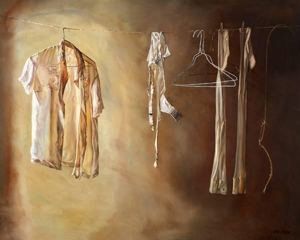 Emma Hesse 衣物印象派绘画集8