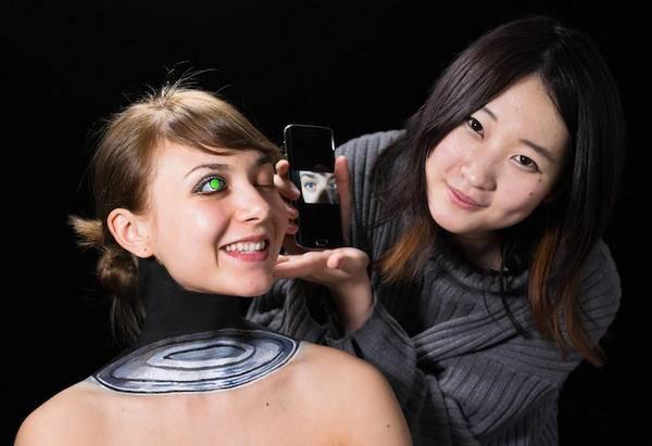 Hikaru Cho 科技感十足的人体彩绘艺术集2