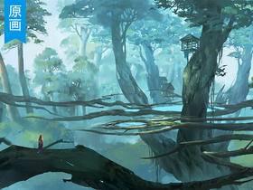 《魔兽世界》场景原画厚涂凯时娱乐