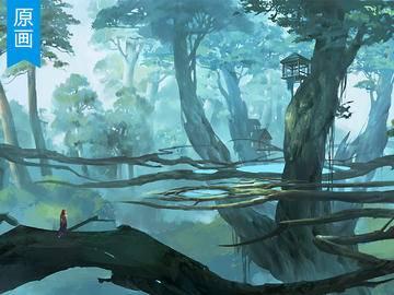 《魔兽世界》场景原画厚涂教程