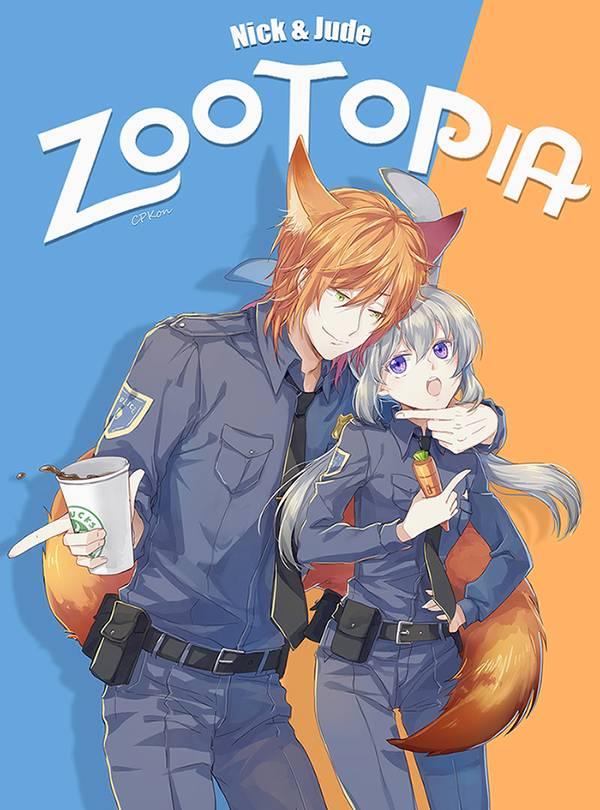 疯狂动物城-狐兔