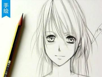 【十分绘画】教你十分钟搞定日漫萌妹子的手绘教程