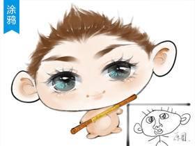 【趣味涂鸦】教你把熊孩子的涂鸦改造成Q萌人物
