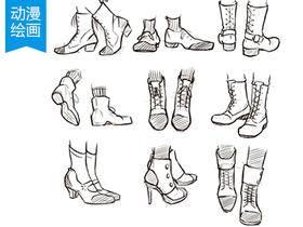 人物配饰画法(饰品,鞋子,帽子等)
