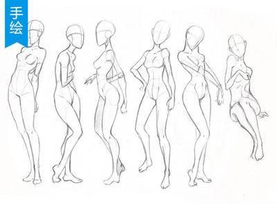 【人体结构】怎样独立创作角色_绘画教程