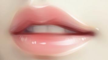 【嘴巴怎么画】如何用PS画出性感红唇?