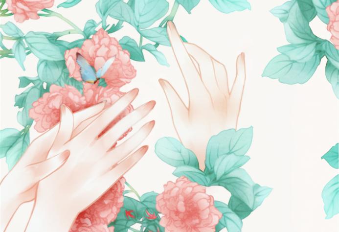 【课程上新】古风水彩花卉,让你爱花懂花更会画花!