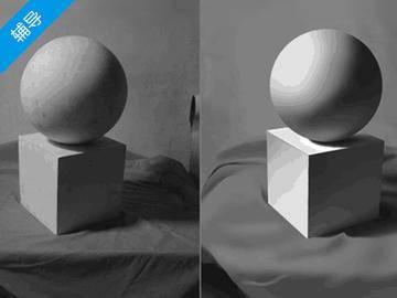 【原画辅导】如何把握石膏几何体光影&明暗
