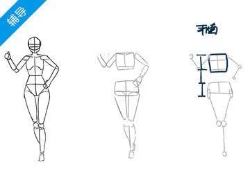怎样快速概括人体并画出透视