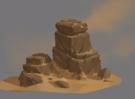 怎么画石头