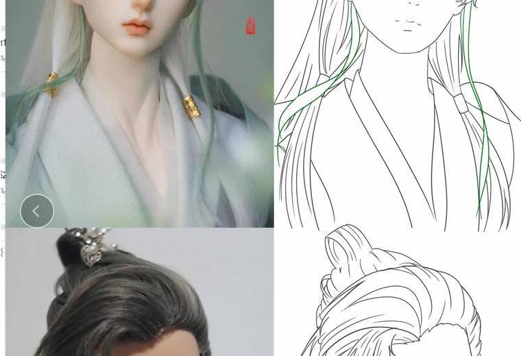 日系古风插画班(黑沢芥子),五官表情练习,正式学员