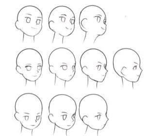 高级日系插画专业班(口丁),头像概括,正式学员