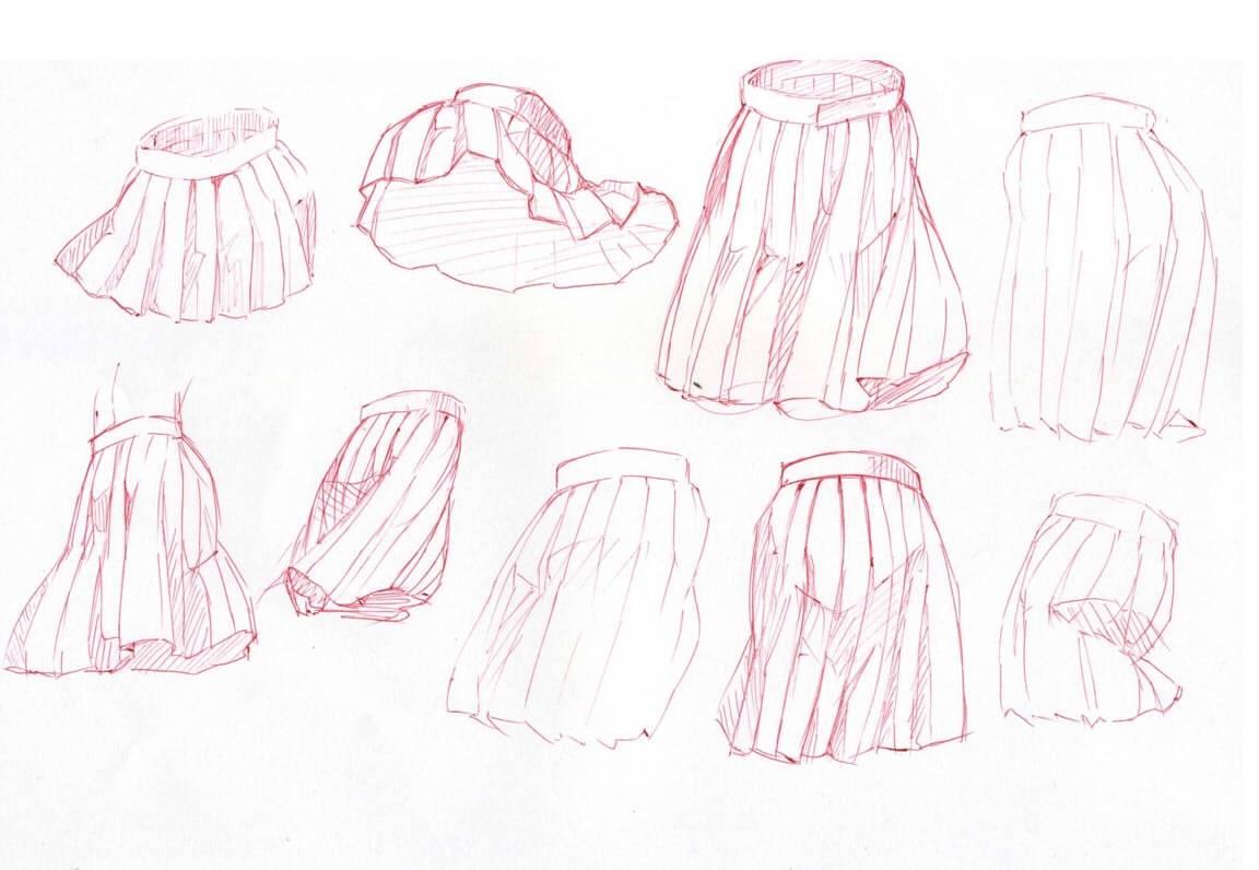 画来画去只有水手服?jk制服的款式说明了解一下图片
