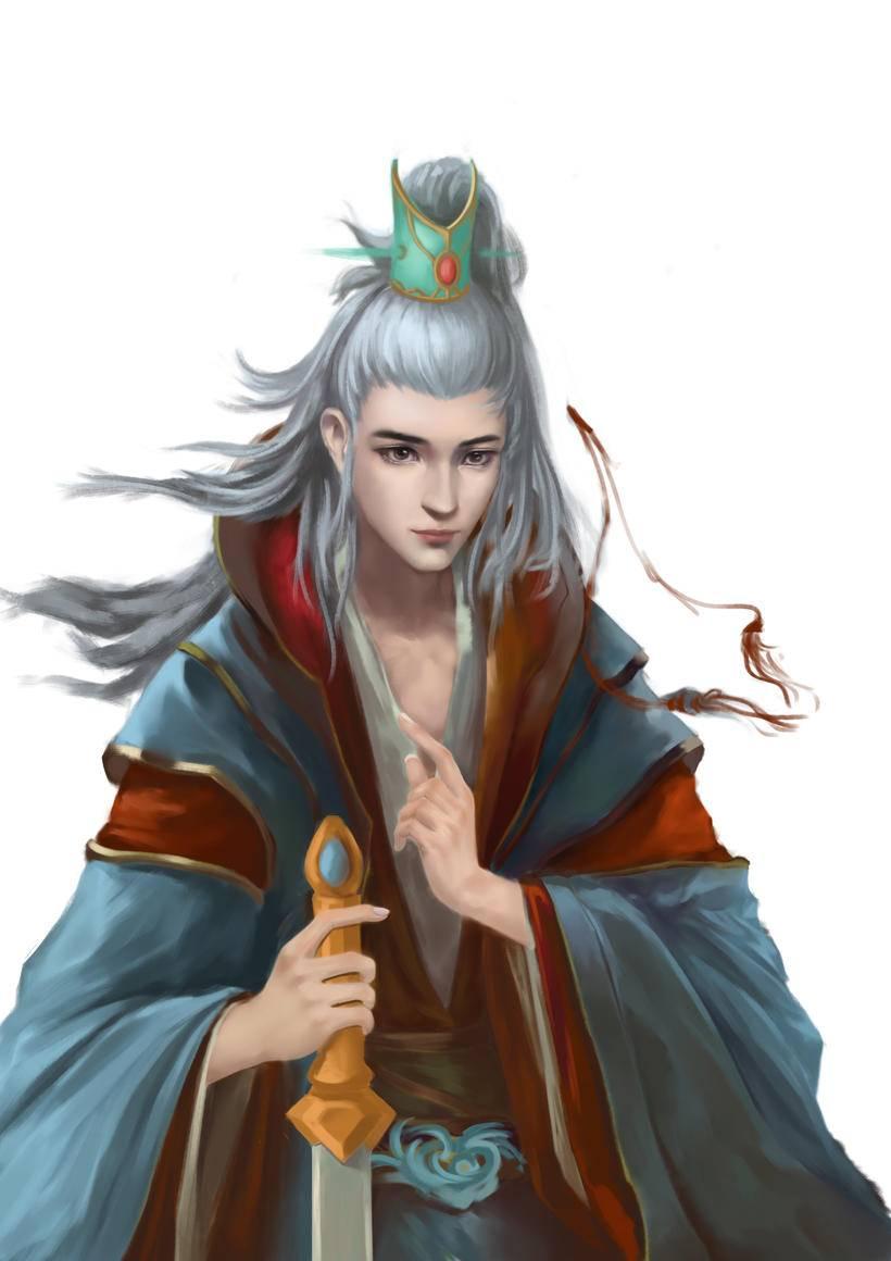 游戏角色原画设计专业班(阮子斌),原创头像作业,正式学员