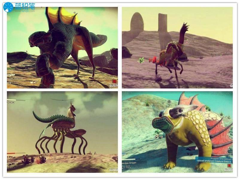 它们可能是长得像羊的恐龙,或许是长了翅膀的河马,总之有各种辣眼睛的