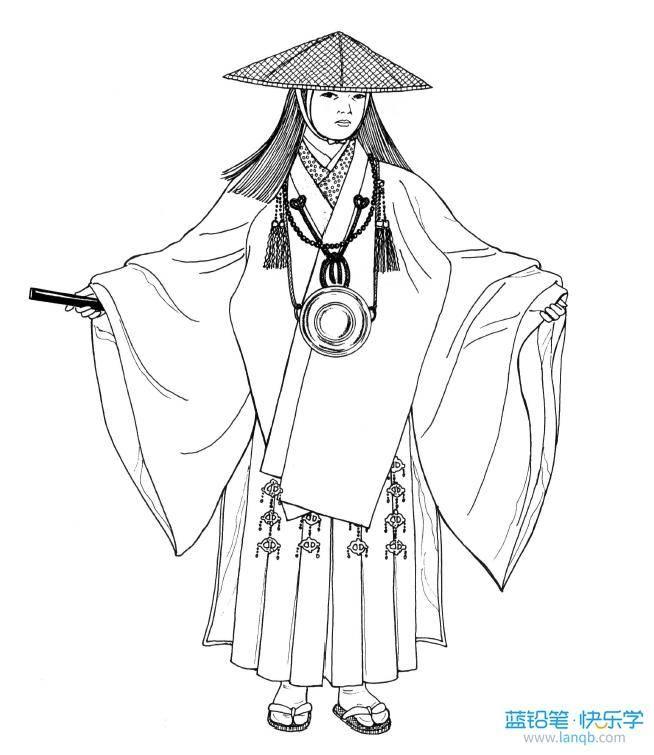 中国古代庶民手绘