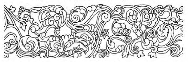 别小瞧植物纹样,古风插画缺了它真不行!
